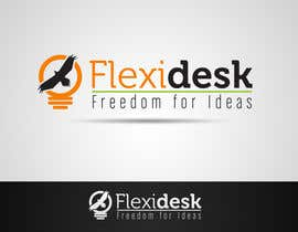 amauryguillen tarafından Design a Logo for Flexidesk Co-Working Space için no 138