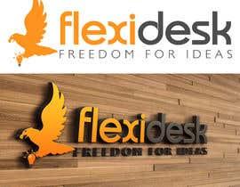 LucianCreative tarafından Design a Logo for Flexidesk Co-Working Space için no 75