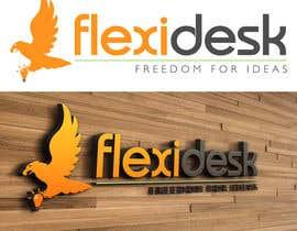 LucianCreative tarafından Design a Logo for Flexidesk Co-Working Space için no 77