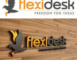 LucianCreative tarafından Design a Logo for Flexidesk Co-Working Space için no 119