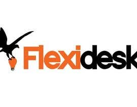 rabinrai44 tarafından Design a Logo for Flexidesk Co-Working Space için no 105