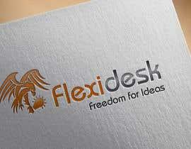 Pato24 tarafından Design a Logo for Flexidesk Co-Working Space için no 170