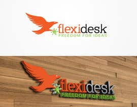 #120 para Design a Logo for Flexidesk Co-Working Space por nixRa