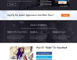 "nº 24 pour Website for New Novel, ""SELFIES"" by Gabriel Gilbert par adixsoft"
