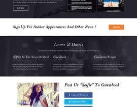 "nº 25 pour Website for New Novel, ""SELFIES"" by Gabriel Gilbert par adixsoft"