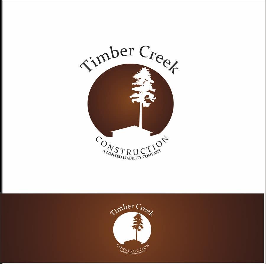 Konkurrenceindlæg #                                        68                                      for                                         Logo Design for Timber Creek Construction