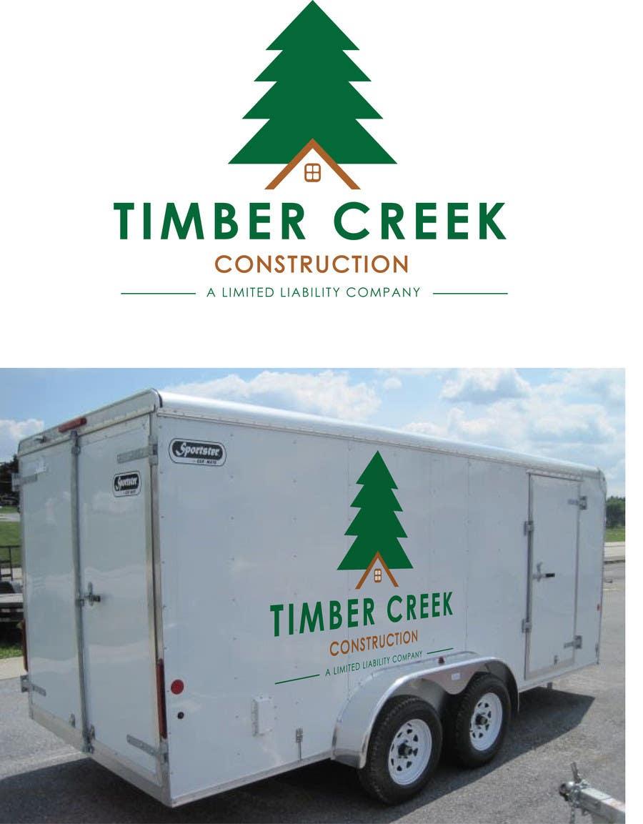 Konkurrenceindlæg #                                        136                                      for                                         Logo Design for Timber Creek Construction