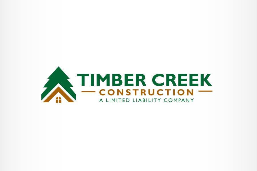 #33 for Logo Design for Timber Creek Construction by BrandCreativ3