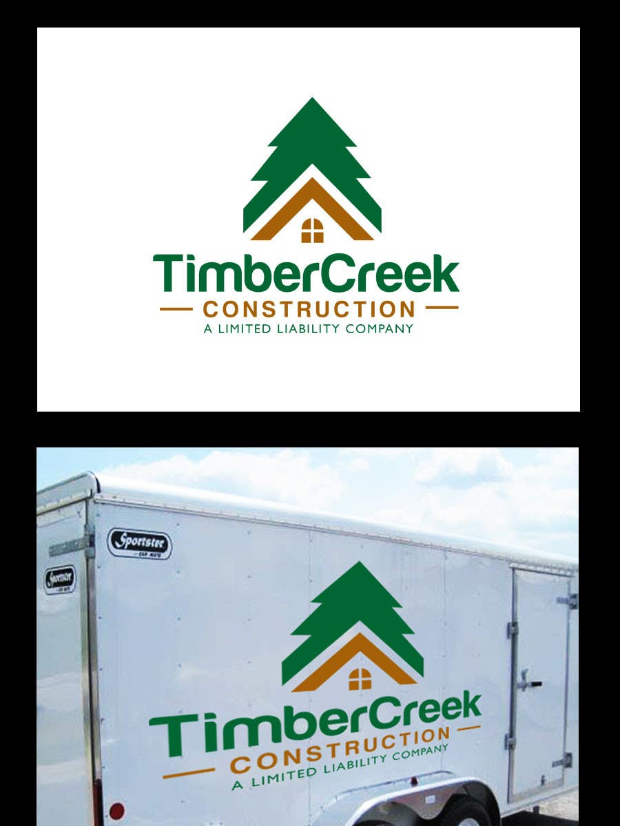 Konkurrenceindlæg #                                        123                                      for                                         Logo Design for Timber Creek Construction