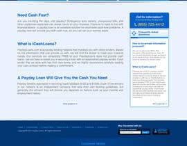#69 pentru Website Design for Payday Loans Website de către yaniprasetyo