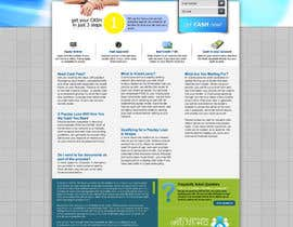 nº 62 pour Website Design for Payday Loans Website par ANALYSTEYE