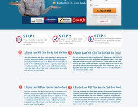 #30 untuk Website Design for Payday Loans Website oleh innovawebtech