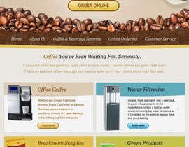 nº 37 pour Website Design for Coffee Solutions Group par MishAMan