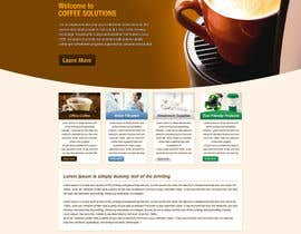 #54 pentru Website Design for Coffee Solutions Group de către tania06