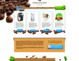 #74 pentru Website Design for Coffee Solutions Group de către ANALYSTEYE