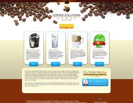 nº 26 pour Website Design for Coffee Solutions Group par ANALYSTEYE