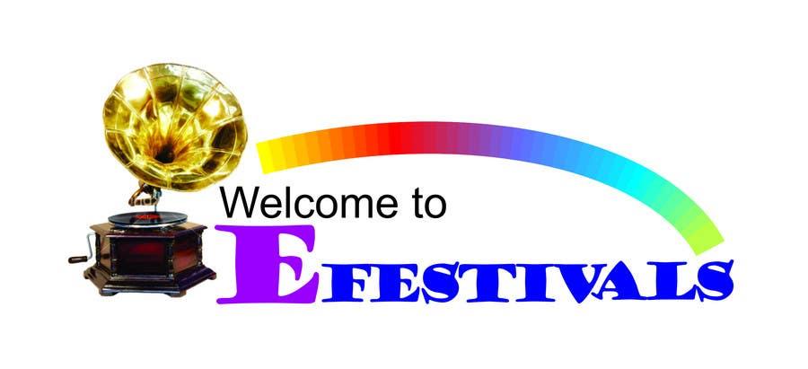 Inscrição nº 402 do Concurso para Logo Design for eFestivals
