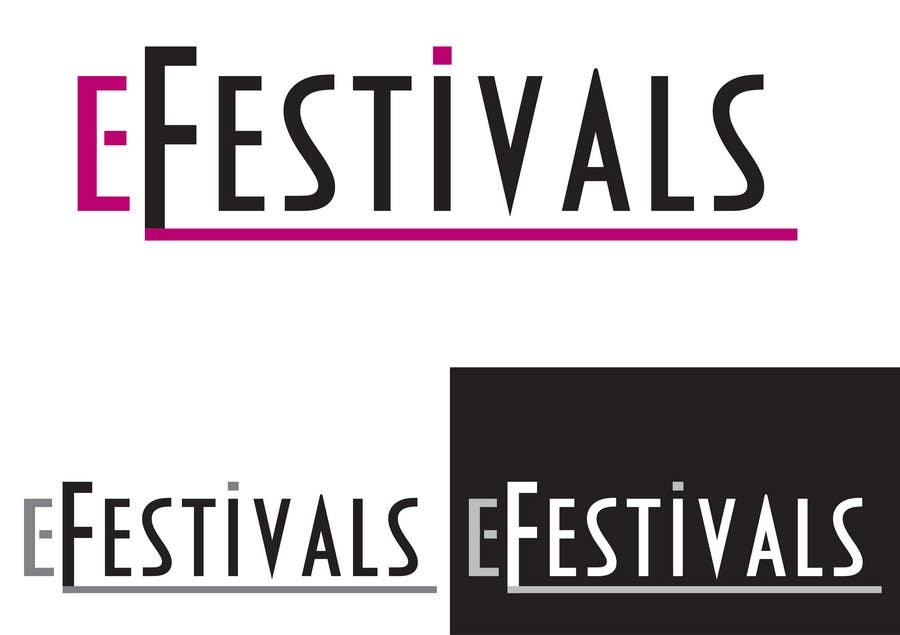 Inscrição nº 397 do Concurso para Logo Design for eFestivals