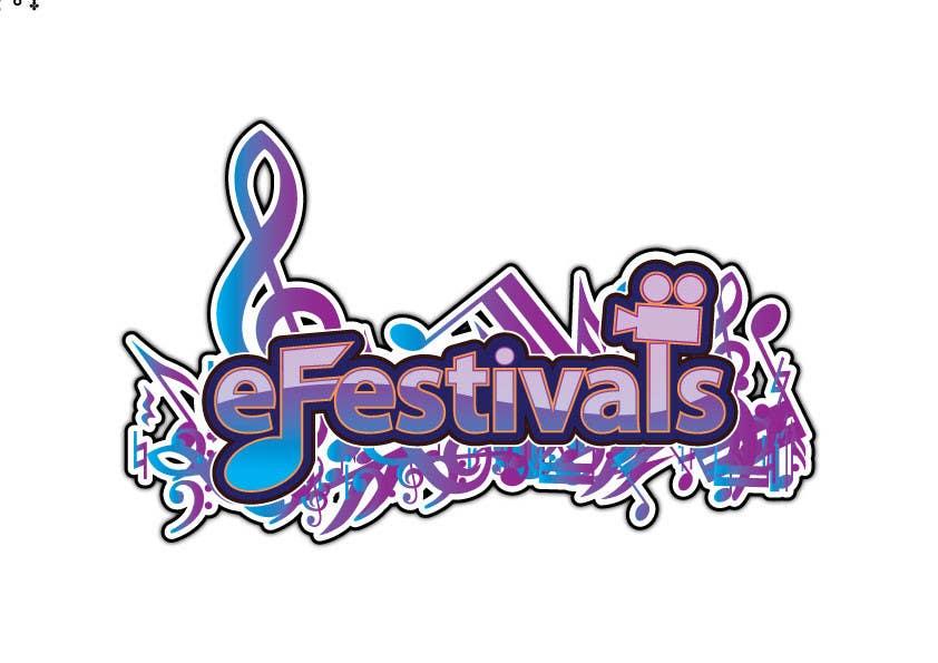 Inscrição nº 363 do Concurso para Logo Design for eFestivals