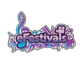 #363 za Logo Design for eFestivals od lanangwirabawa