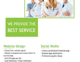 nº 18 pour Design a Brochure for Medical Marketing Services par hadeerafarouk