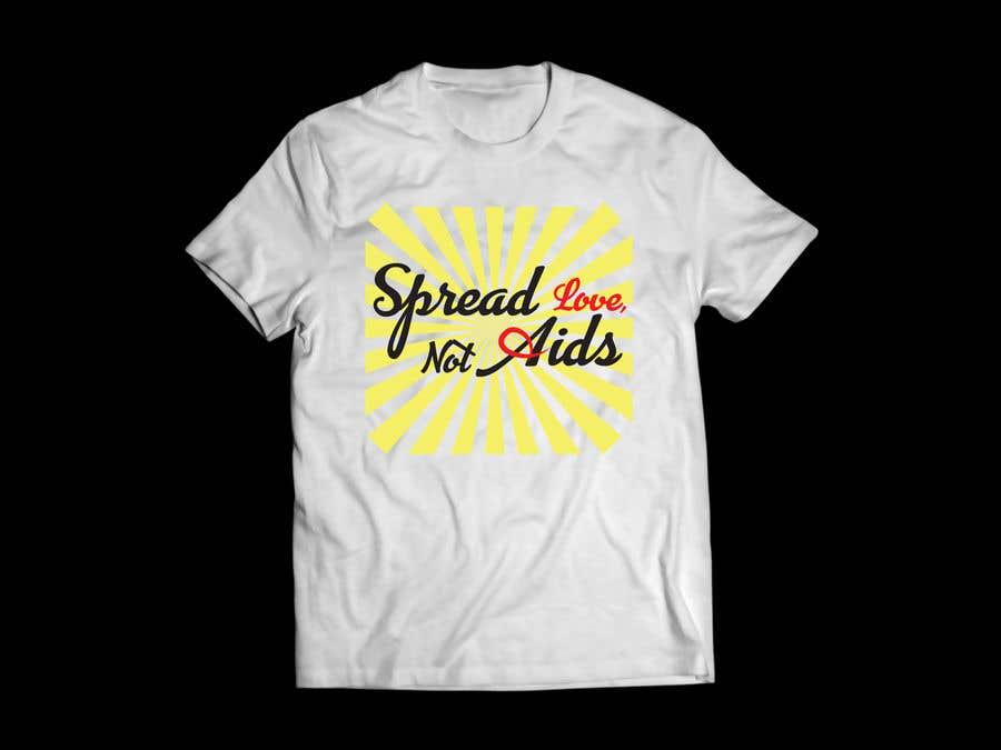 Konkurrenceindlæg #42 for Design a T-Shirt For HIV Awareness