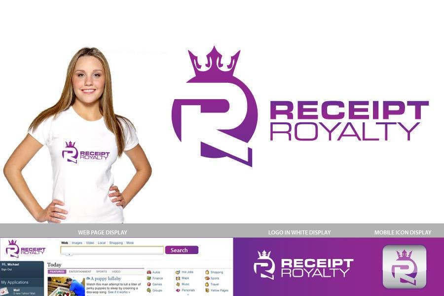 #90 for Logo Design for Receipt Royalty Mobile Application by jtmarechal