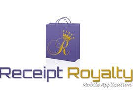#172 pentru Logo Design for Receipt Royalty Mobile Application de către facebooklikes007
