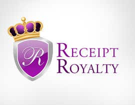 #152 para Logo Design for Receipt Royalty Mobile Application por KreativeAgency