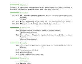 #14 for Re write Curriculum Vitae and cover letter by AitsamAhmad
