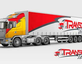 "#60 cho Create a logo for my transport (trucks) company named ""Transcar Sibiu"" bởi Kashish2015"