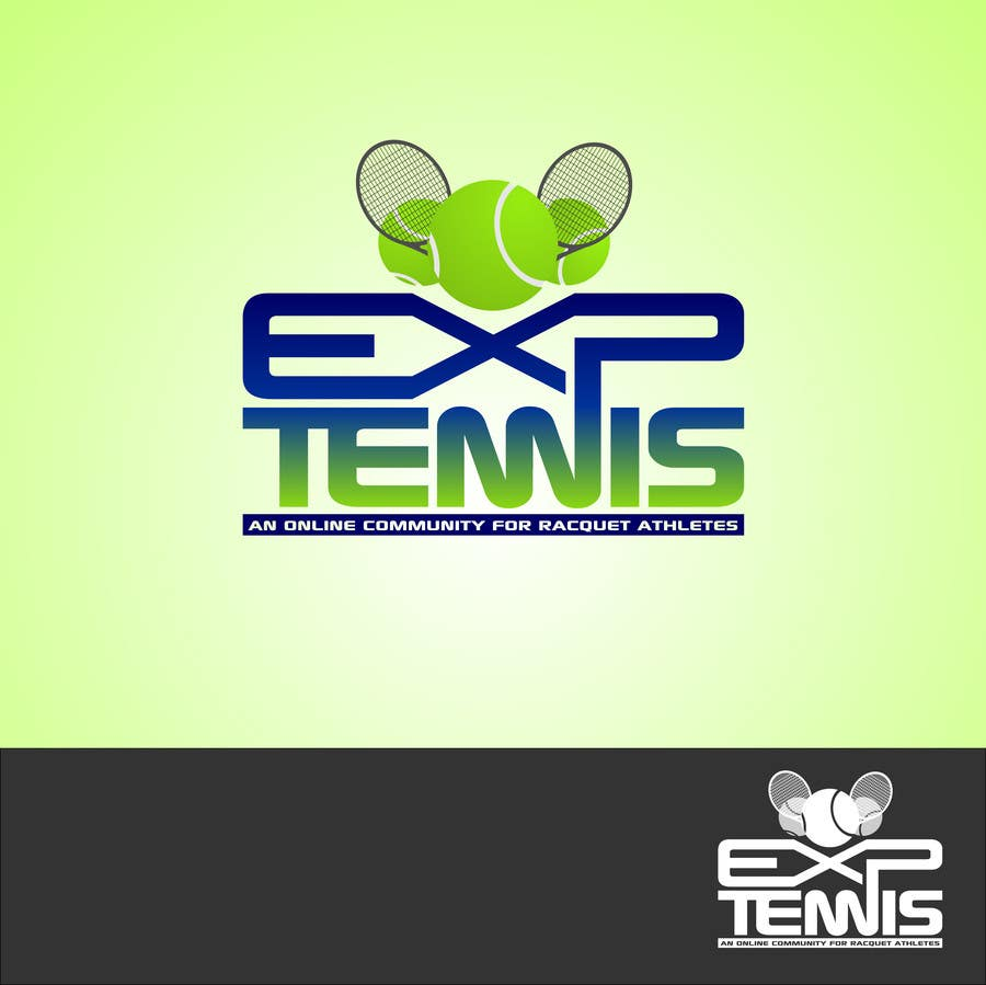 #57 for Logo Design for EXP Tennis by Kuczakowsky