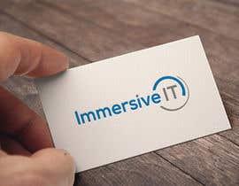 #103 untuk Design a Logo for Immersive IT oleh colorcmyk