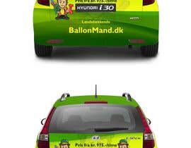 #33 for Cardesign for Ballonmand.dk and Ansigtsmaling.dk by ezesol