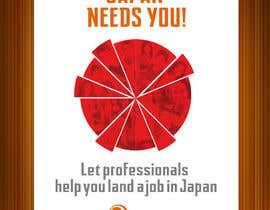 #9 untuk We need a poster design for a recruitment firm for foreign students in Universities in Japan (English) oleh elielfree