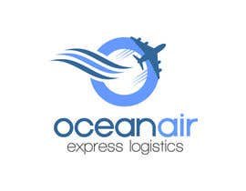 #68 para Logo Design for OceanAir Express Logistics por dimitarstoykov