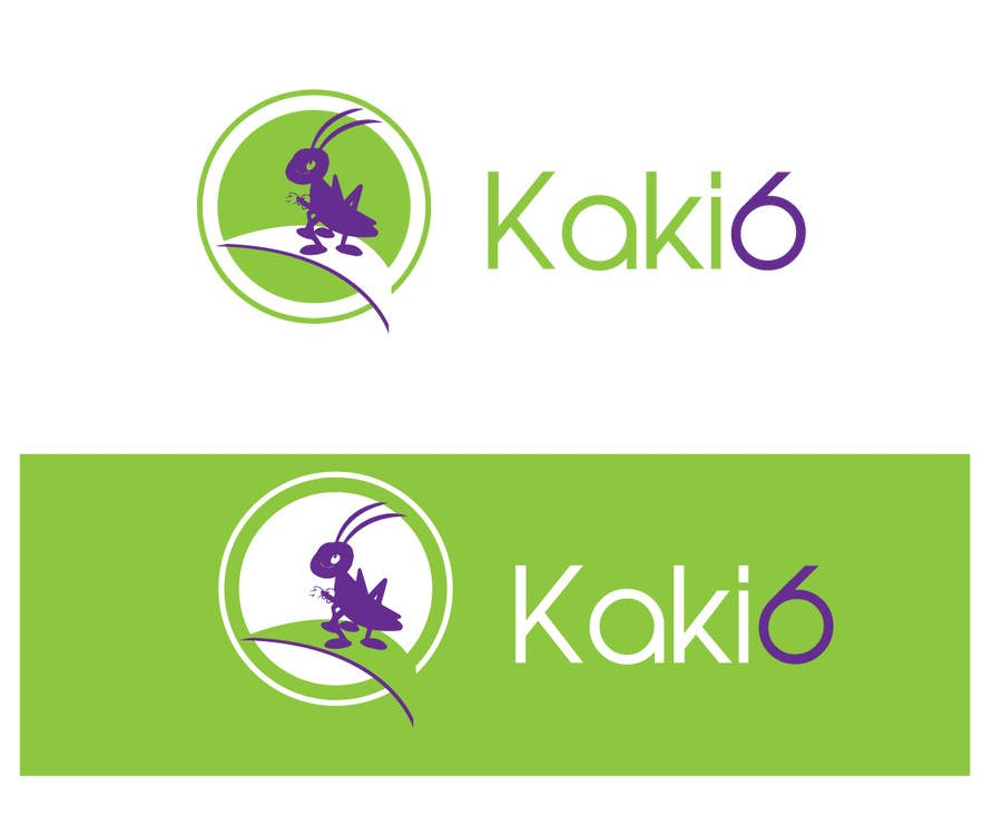 Contest Entry #                                        41                                      for                                         design logo for kaki6.com. an edible insects website
