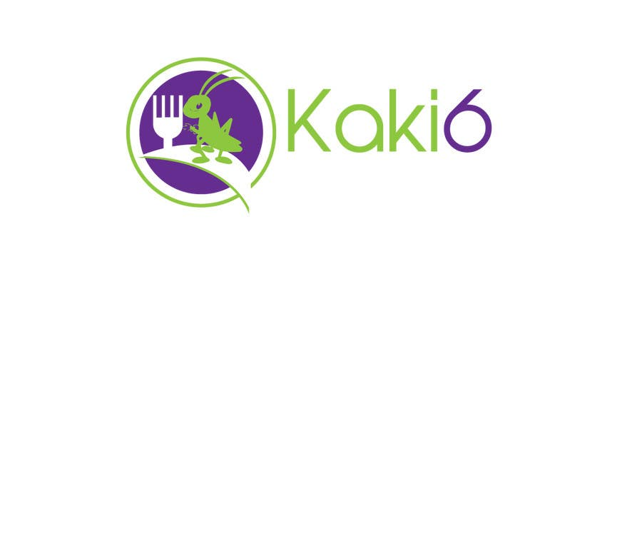 Contest Entry #                                        42                                      for                                         design logo for kaki6.com. an edible insects website