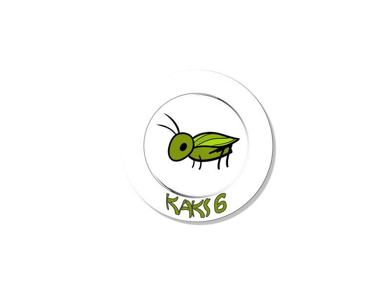 Contest Entry #                                        43                                      for                                         design logo for kaki6.com. an edible insects website