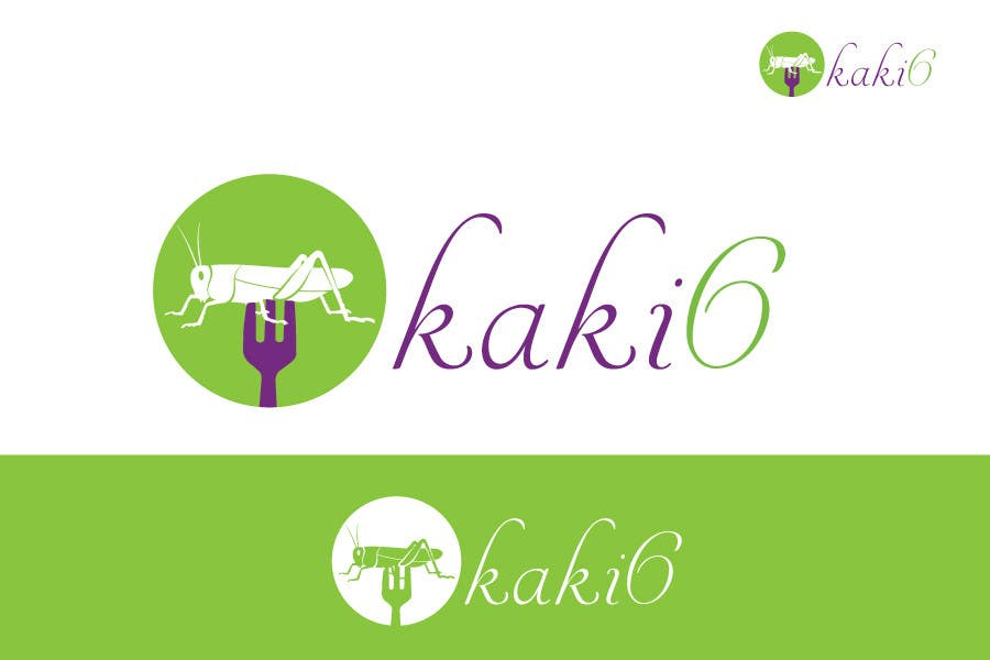 Contest Entry #                                        22                                      for                                         design logo for kaki6.com. an edible insects website