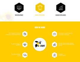 Nro 57 kilpailuun Design and build 1 page static introduction website käyttäjältä zaxsol