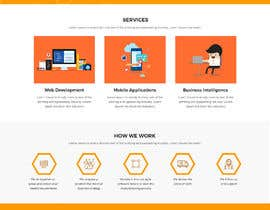 Nro 47 kilpailuun Design and build 1 page static introduction website käyttäjältä adixsoft