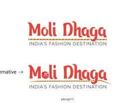 Nro 65 kilpailuun Moli Dhaga Logo Design käyttäjältä adsingh13