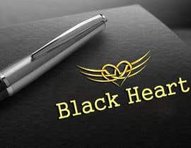 #133 for Design a Logo for a Black Heart af nipen31d