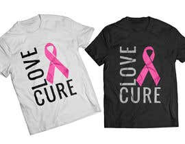 #26 for Design a T-Shirt Breast Cancer Awareness Month by mondaluttam