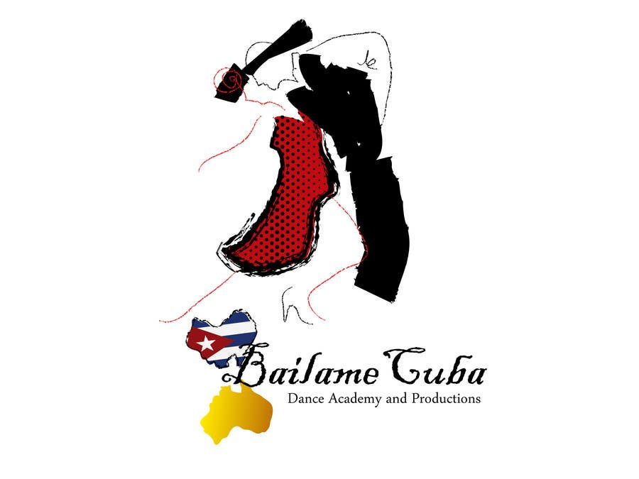 Bài tham dự cuộc thi #57 cho Logo Design for BailameCuba Dance Academy and Productions