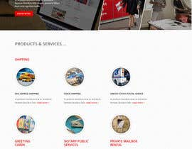 #6 for Website Design for Postal Shipping Company af iTechnoweb