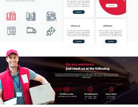 #98 for Website Design for Postal Shipping Company af appsanju8