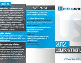 #26 para Graphic Design for Company profile por creationz2011