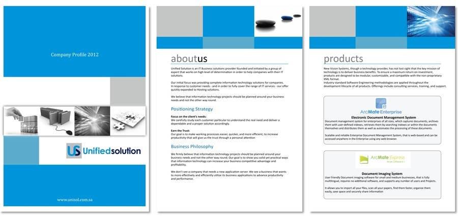 Bài tham dự cuộc thi #39 cho Graphic Design for Company profile